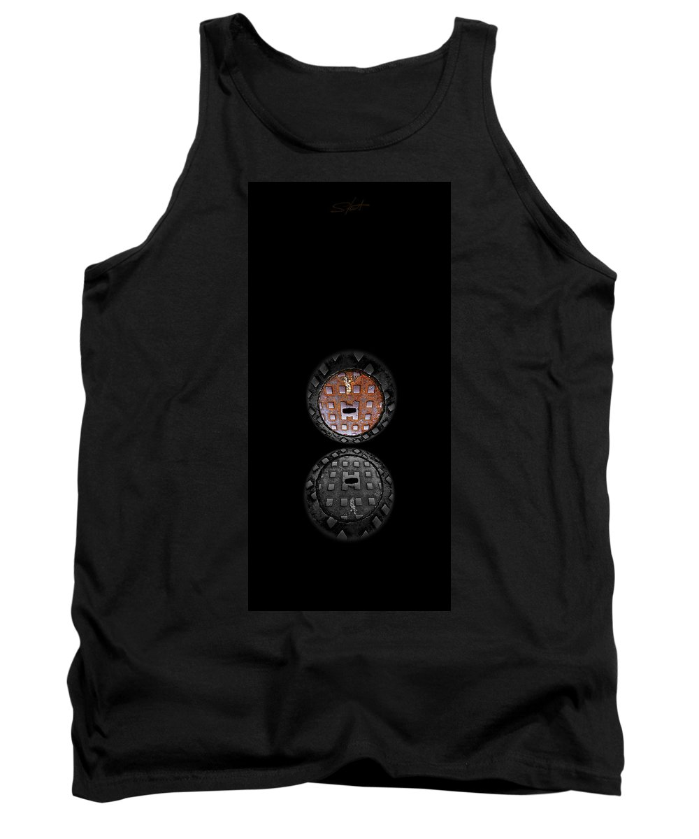 Face Tank Top featuring the photograph Vanity by Charles Stuart