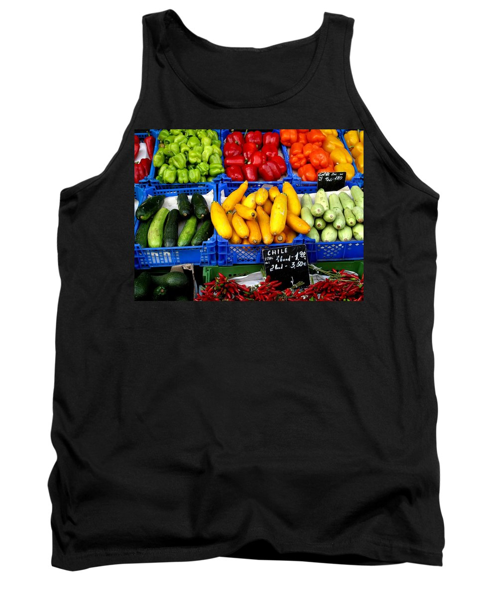 Vegetables Tank Top featuring the photograph Vegetables by Ian MacDonald