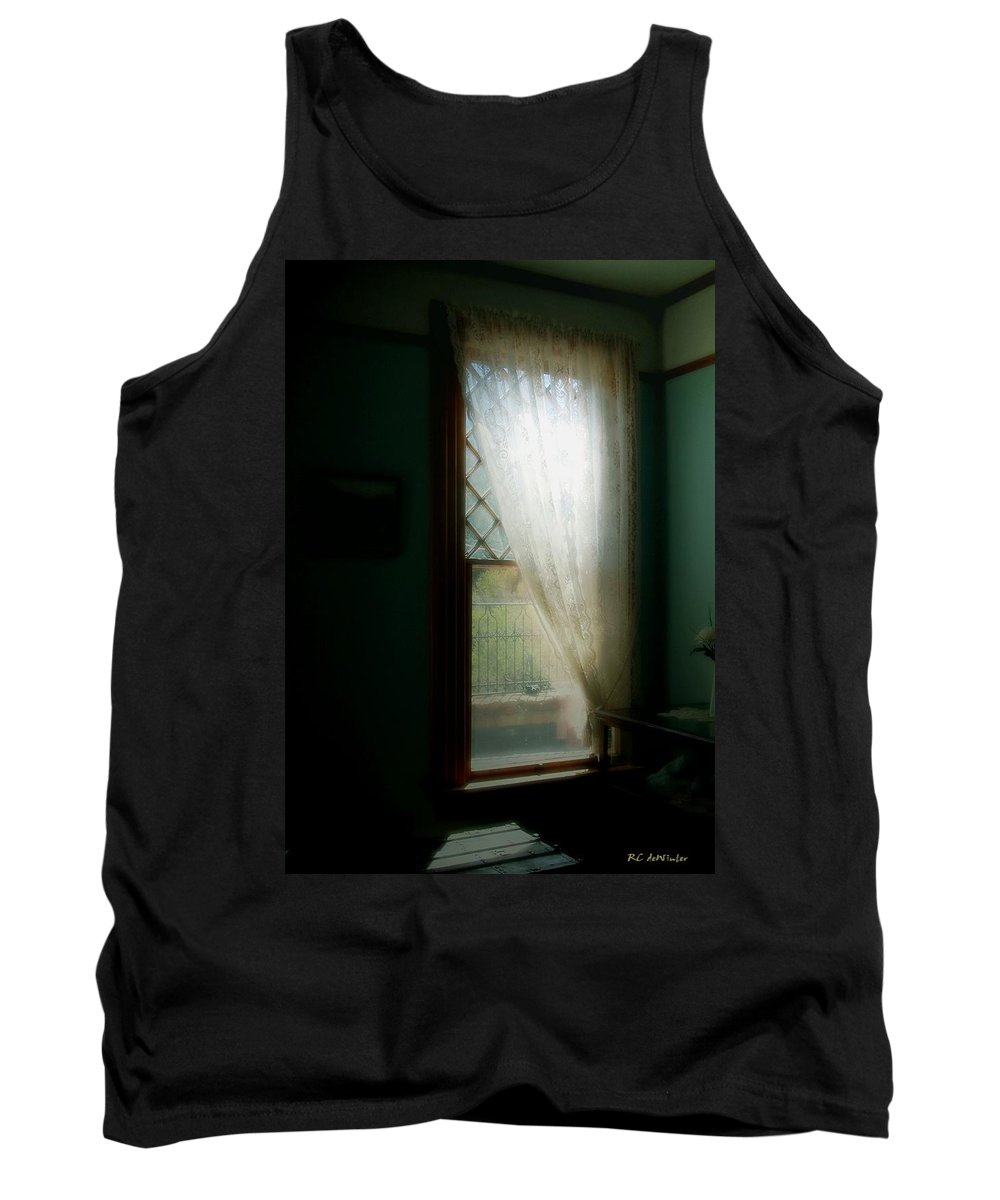 Antiques Tank Top featuring the painting Velvet Afternoon by RC DeWinter