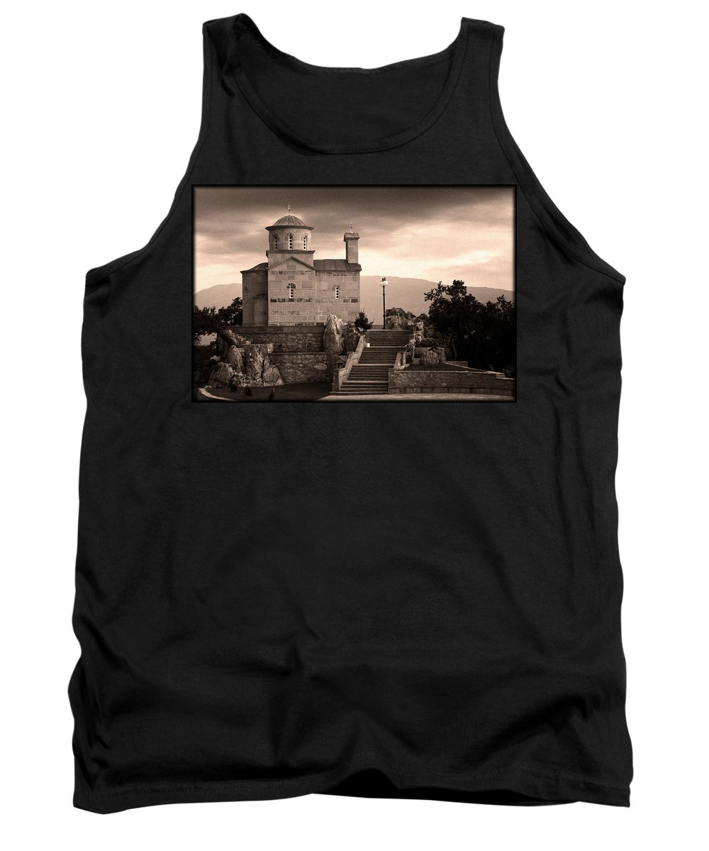 Tank Top featuring the photograph Vertical by Vladimir Damjanovic