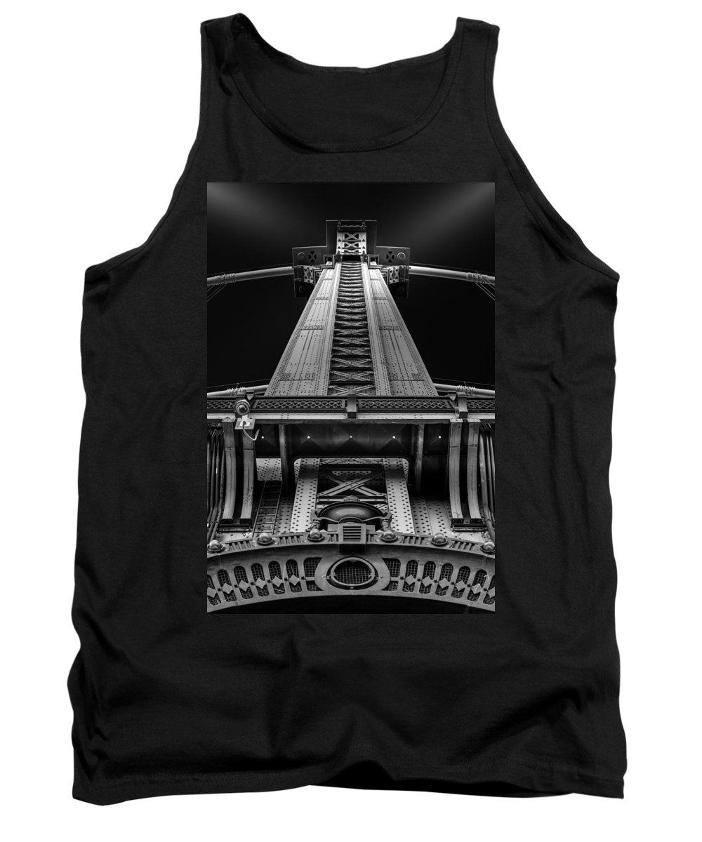 Architecture Tank Top featuring the photograph Verticality by Mihai Andritoiu