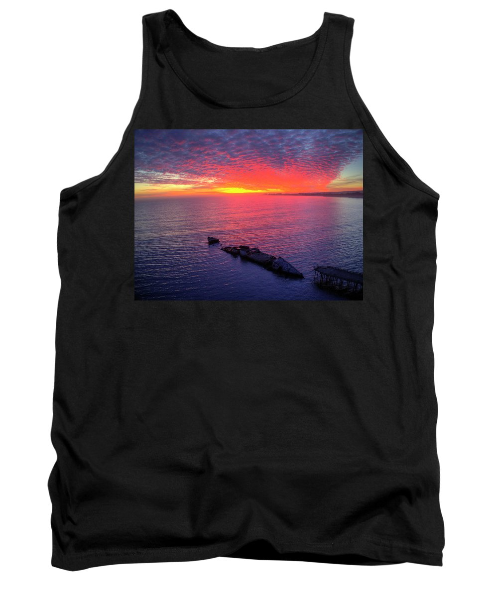 Above Tank Top featuring the photograph Very Berry by David Levy
