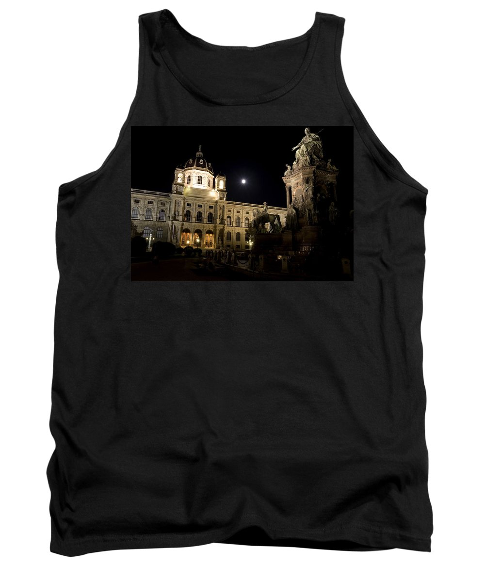 Vienna Tank Top featuring the photograph Vienna Natural History Museum by Julian Wicksteed