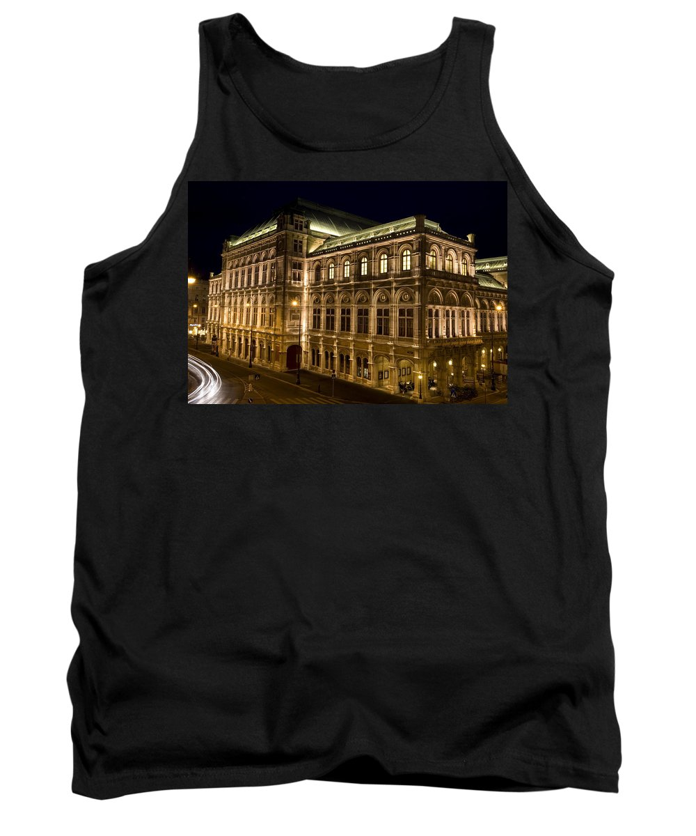 Vienna Tank Top featuring the photograph Vienna State Opera by Julian Wicksteed