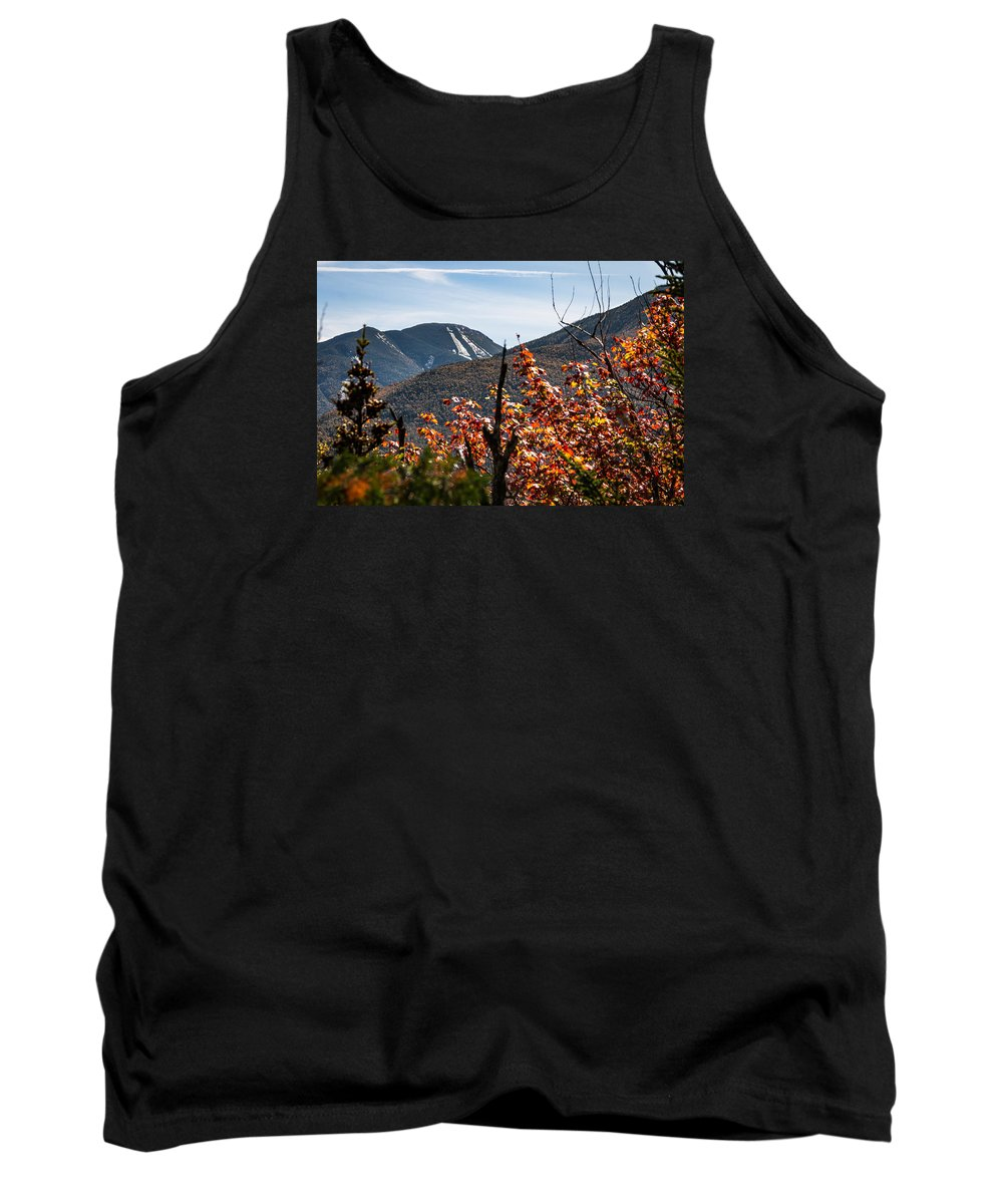 Fall Tank Top featuring the photograph View On The Way Up Mt. Jo, Adirondacks by Sandy Roe