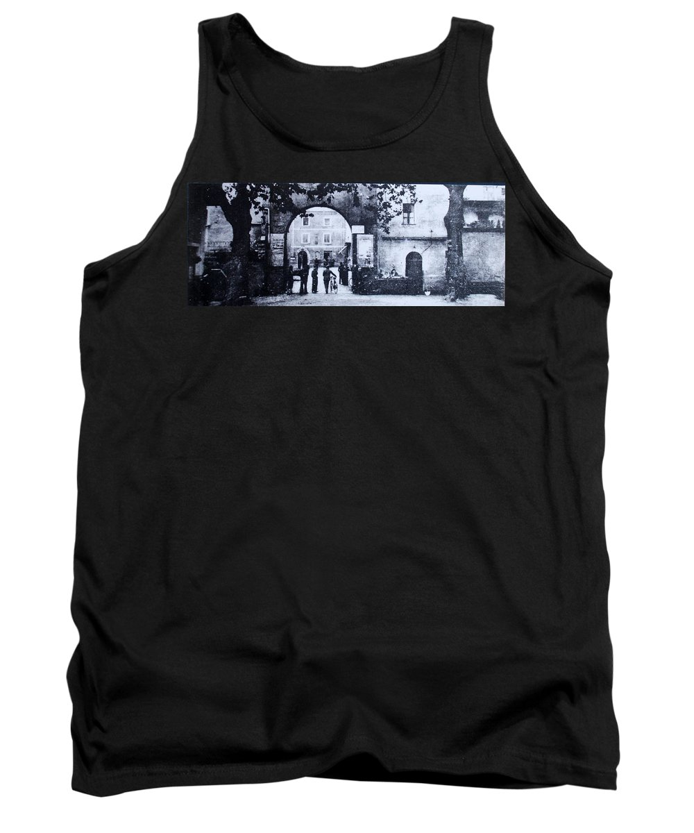 Tuscany Tank Top featuring the photograph Villafranca by Kurt Hausmann