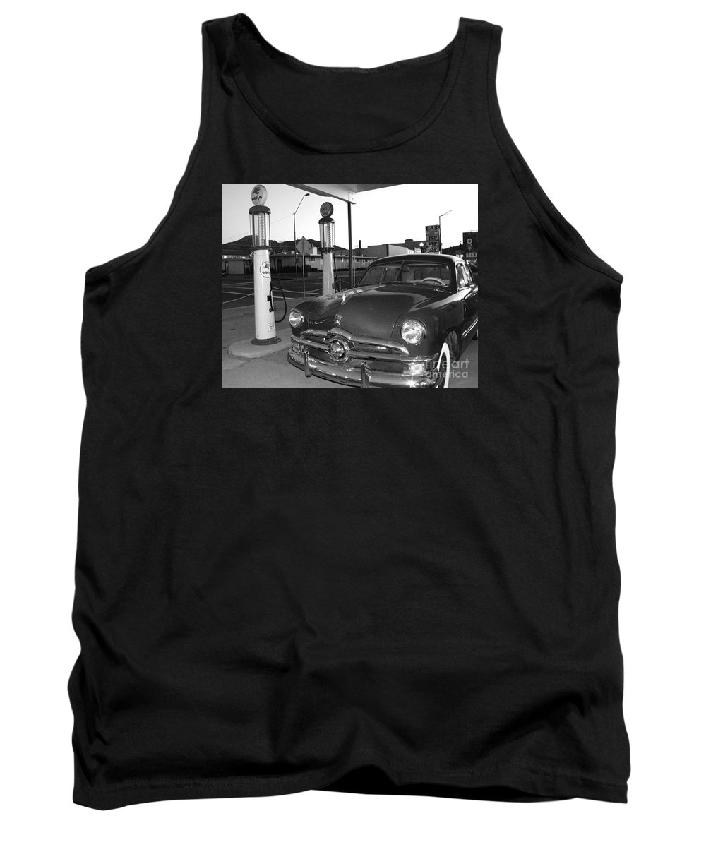 Vintage Car Tank Top featuring the photograph Vintage Ford by Rebecca Margraf