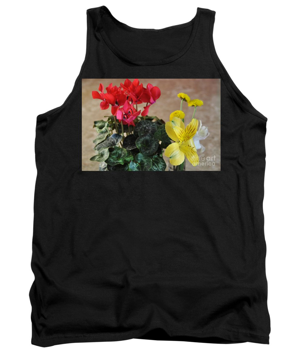Colors Tank Top featuring the photograph Vivid Colors by Crystal J Harwood