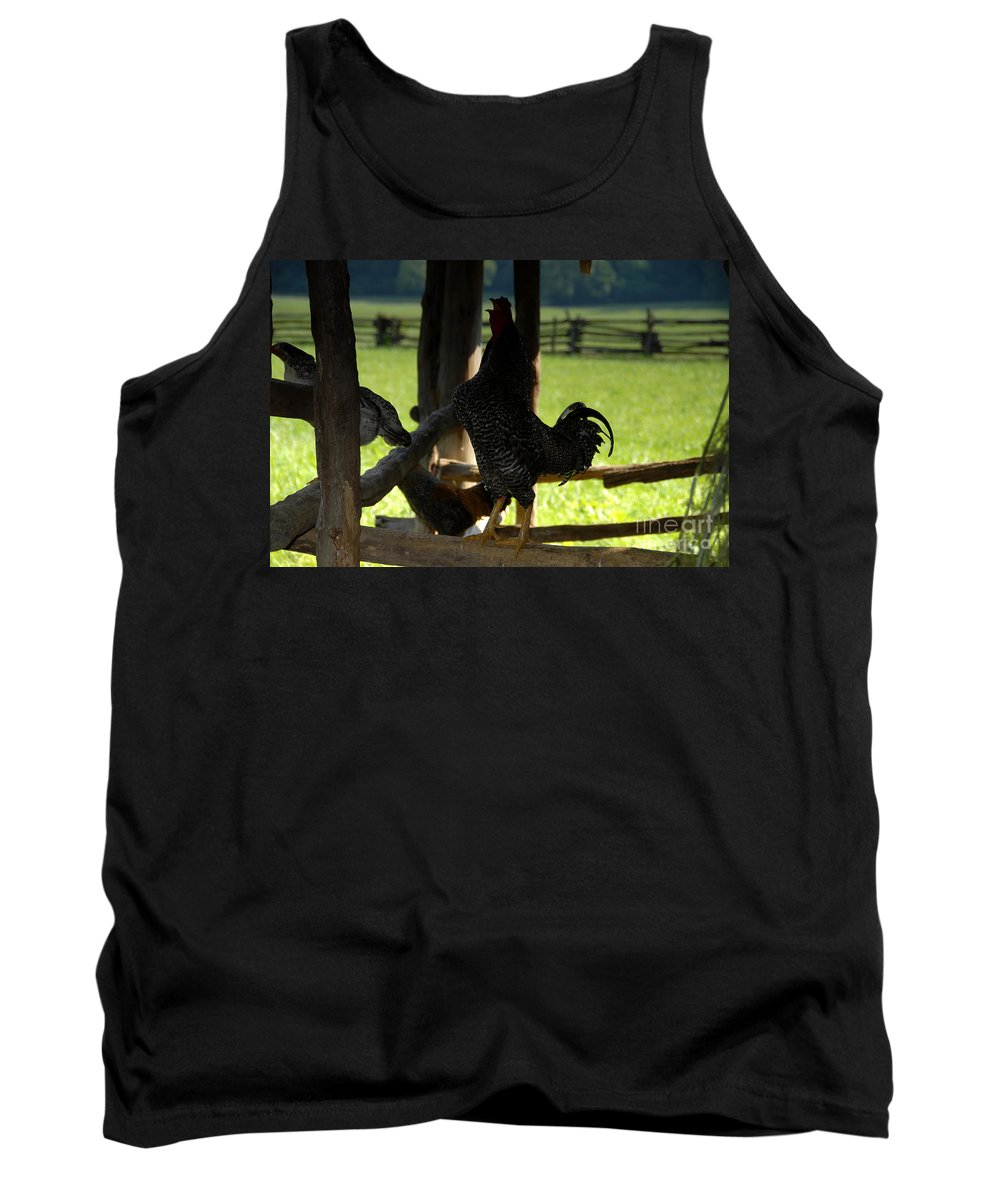 Farm Tank Top featuring the photograph Voice Of The Farm by David Lee Thompson