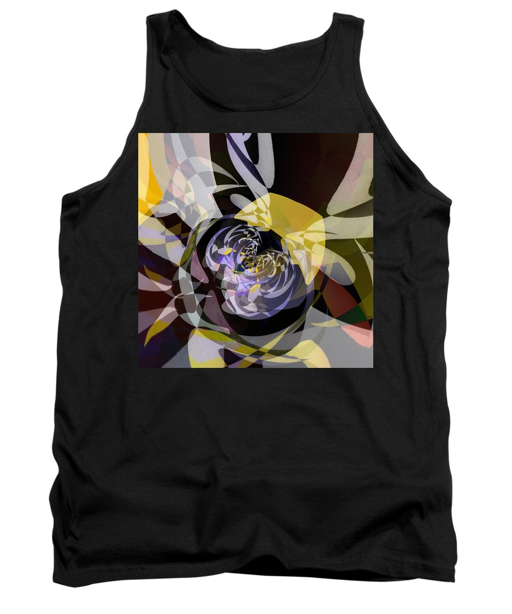 Modern Art Tank Top featuring the photograph Vortice 4 by Philip Openshaw