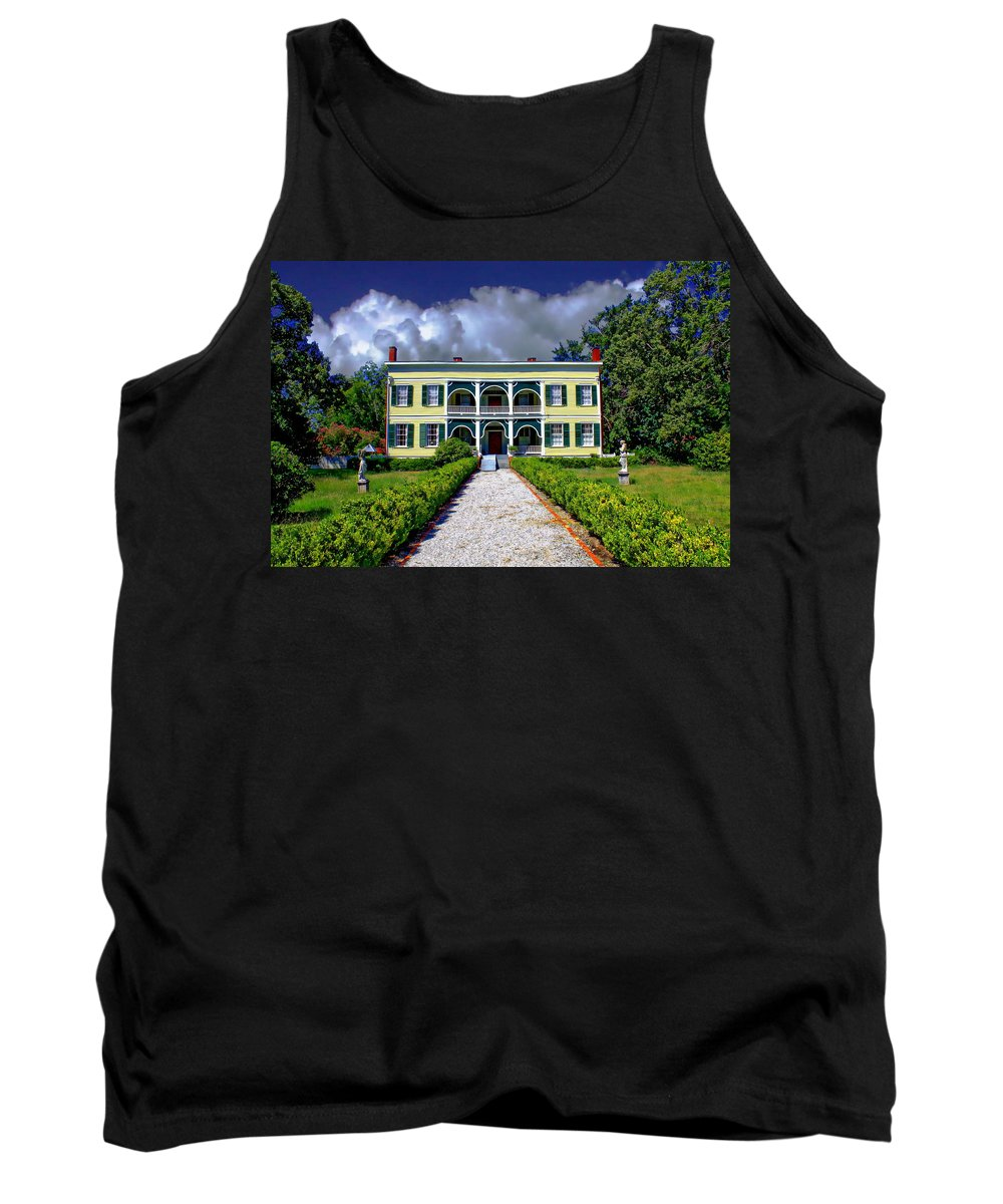 Furman Tank Top featuring the photograph Wakefield Plantation by Anthony Dezenzio