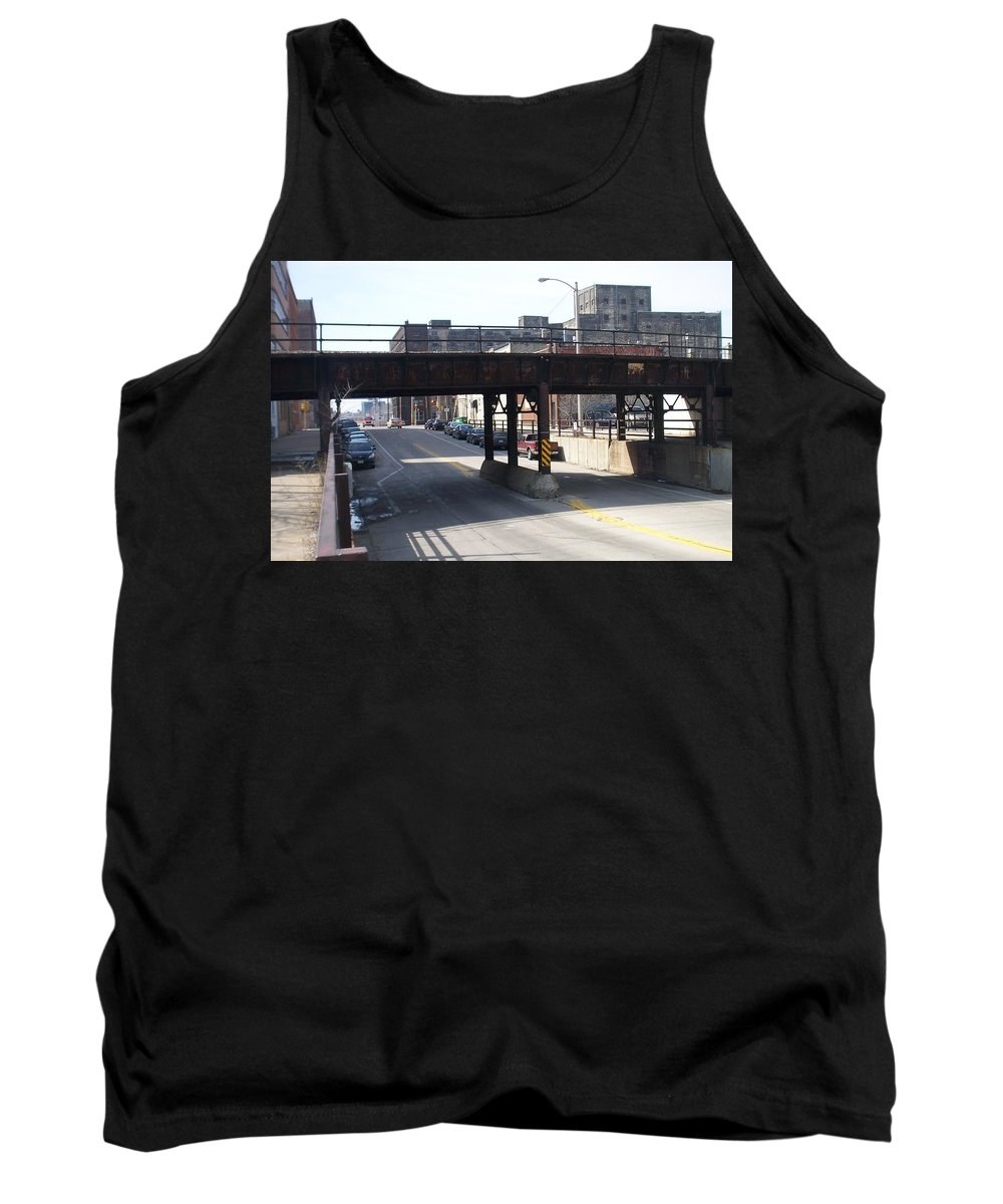 Walker's Point Tank Top featuring the photograph Walker's Point 4 by Anita Burgermeister