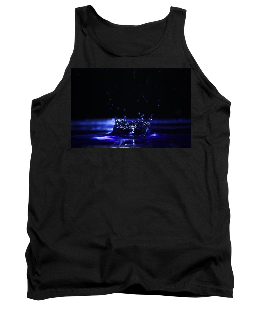 Photography Tank Top featuring the photograph Water Drop by Alexander Butler