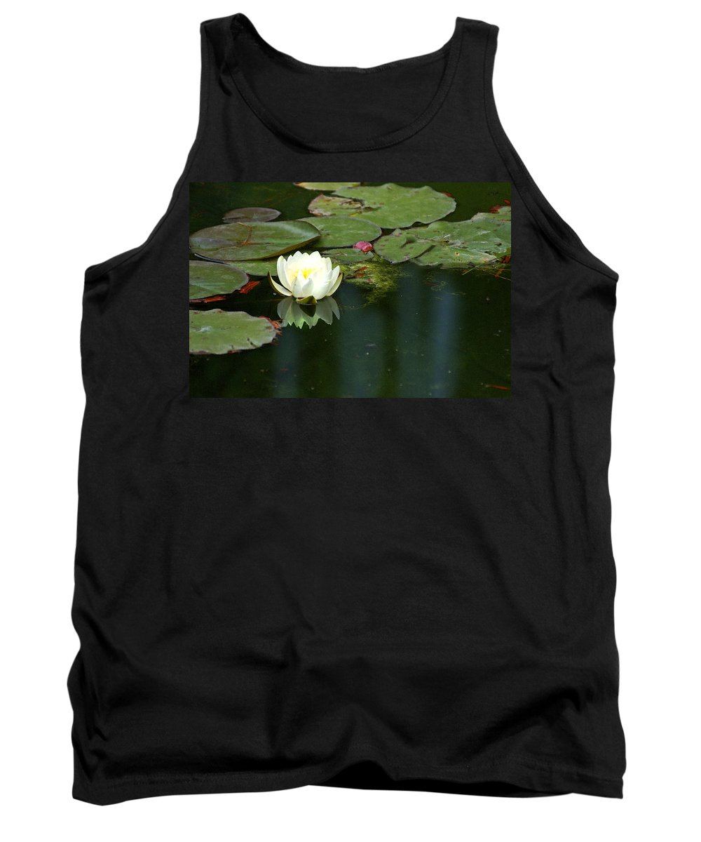 Lily Tank Top featuring the photograph Water Lily by Heather Coen