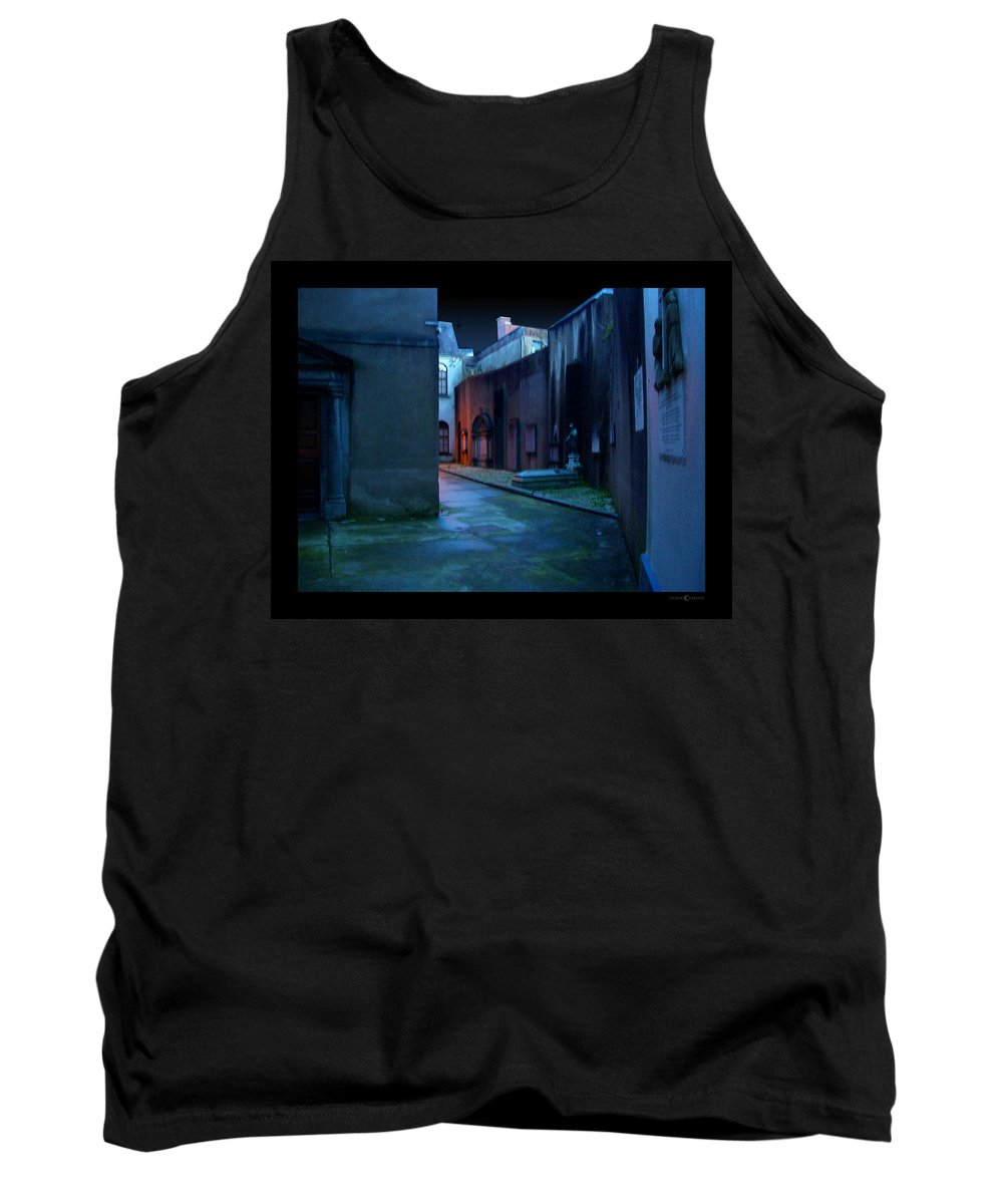 Waterford Tank Top featuring the photograph Waterford Alley by Tim Nyberg