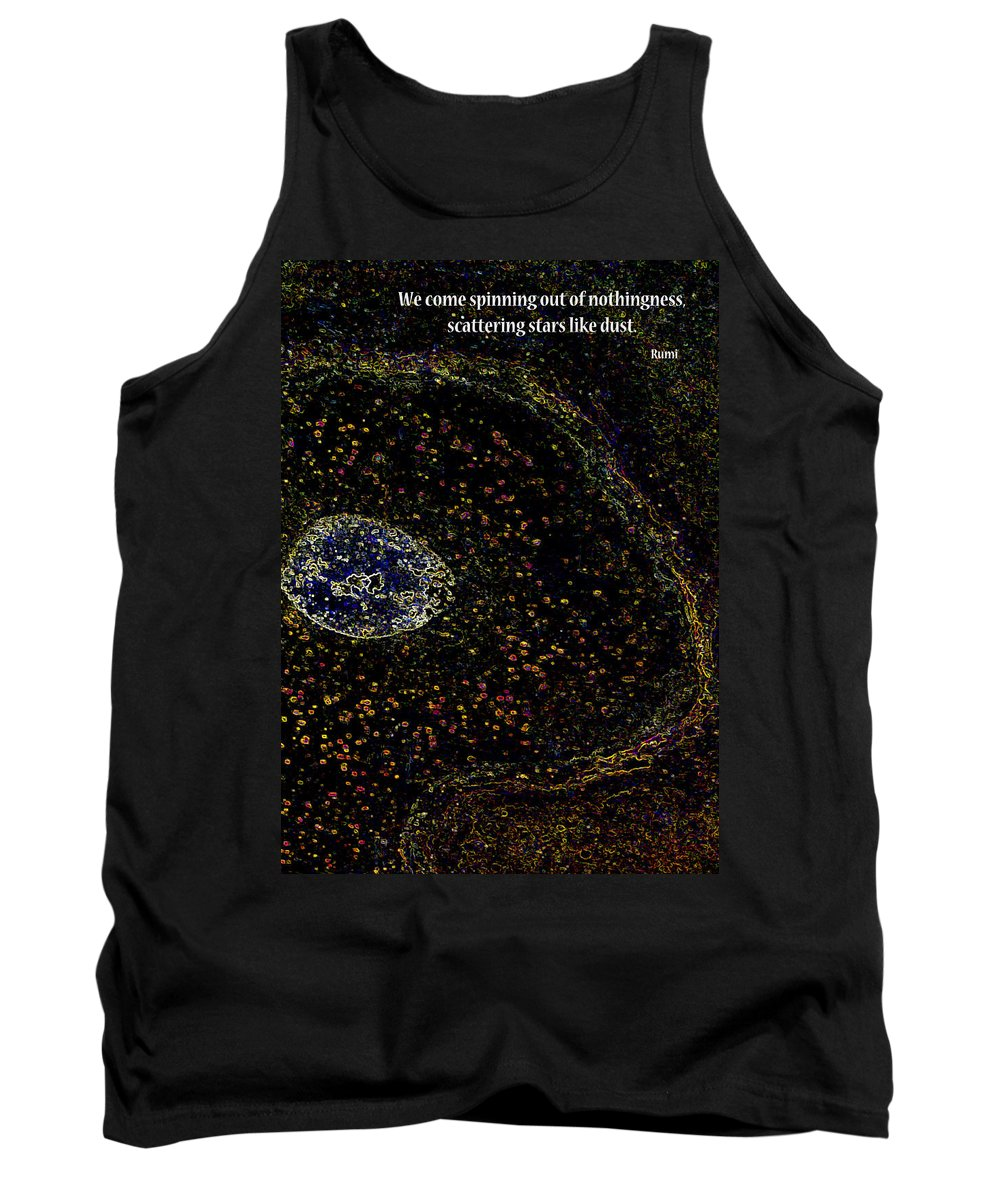 Photograph Tank Top featuring the photograph We Come Spinning by Rhonda McDougall