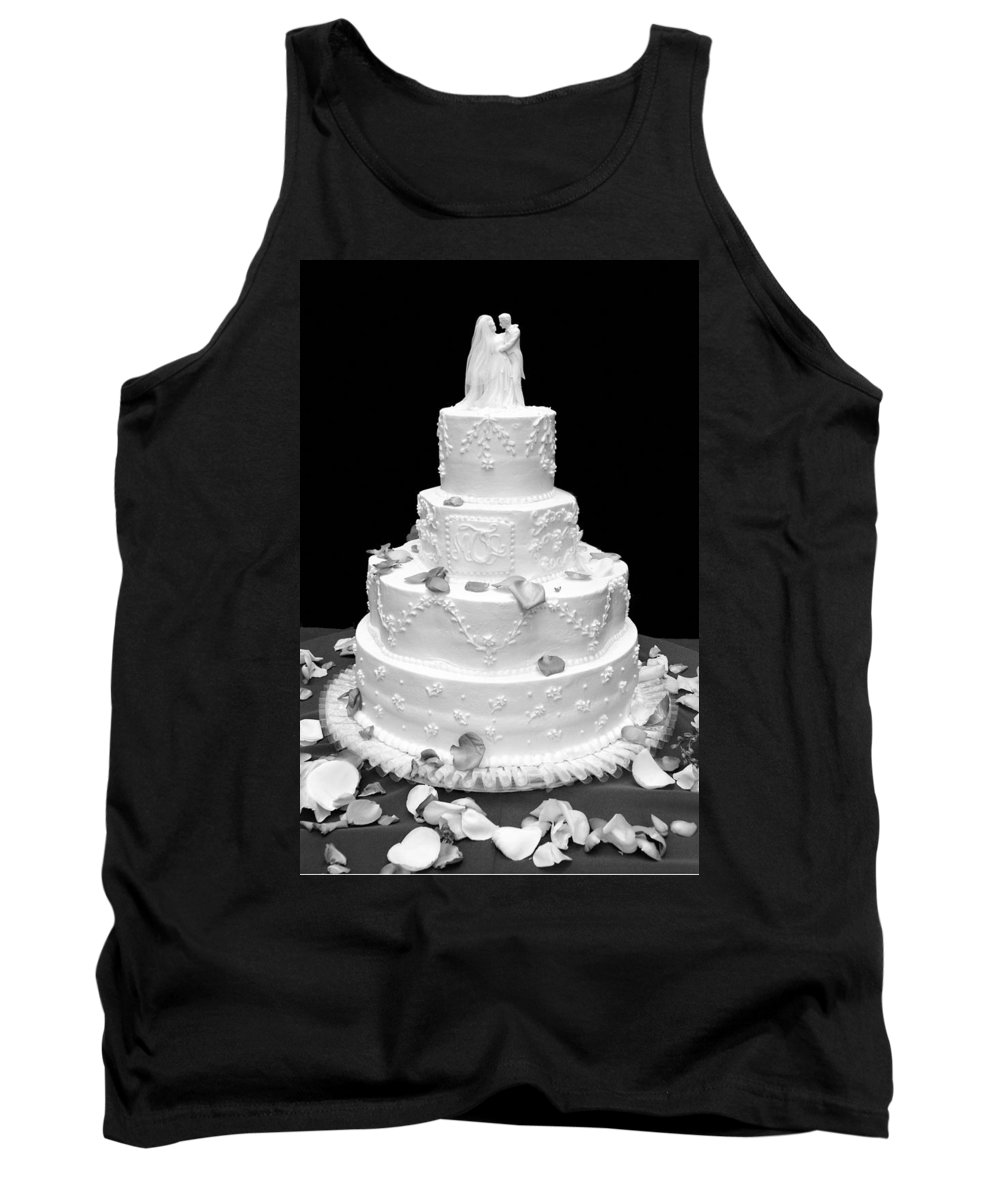 Wedding Tank Top featuring the photograph Wedding Cake by Marilyn Hunt