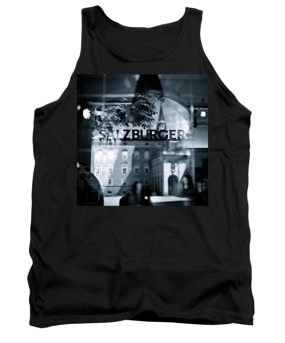 Salzburg Tank Top featuring the photograph Welcome To Salzburg by Dave Bowman