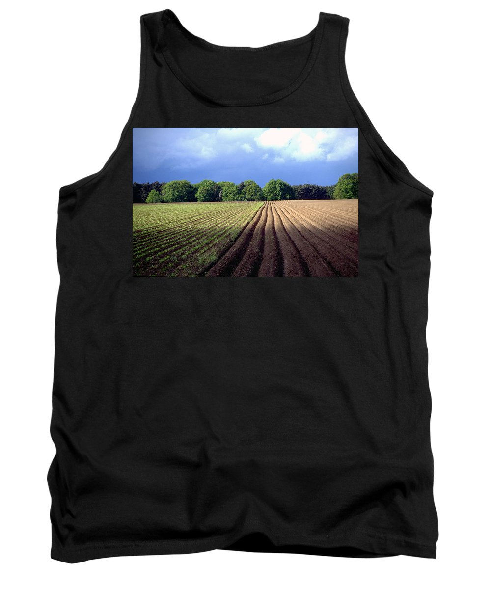 Wendland Tank Top featuring the photograph Wendland by Flavia Westerwelle