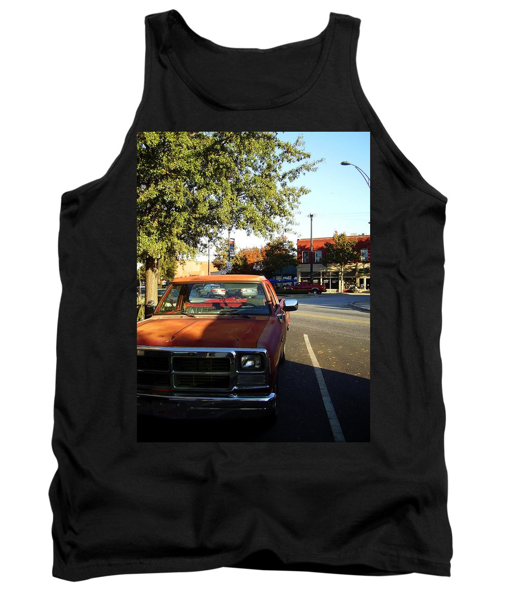 West End Tank Top featuring the photograph West End by Flavia Westerwelle