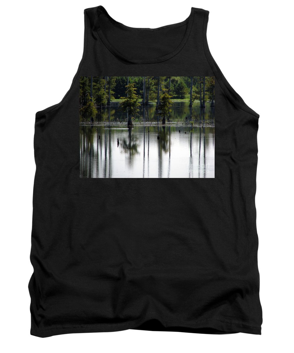 Wetlands Tank Top featuring the photograph Wetland by Amanda Barcon