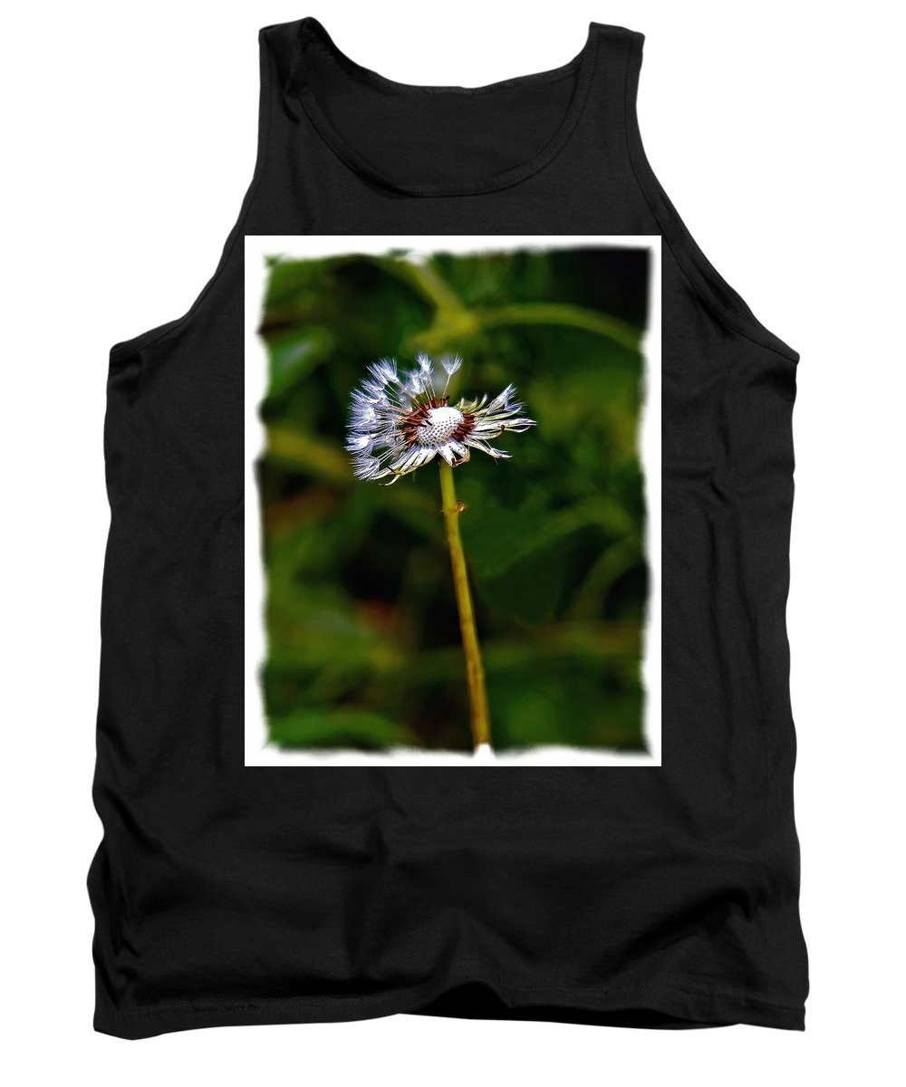 Weed Tank Top featuring the photograph What A Party by Steve Harrington