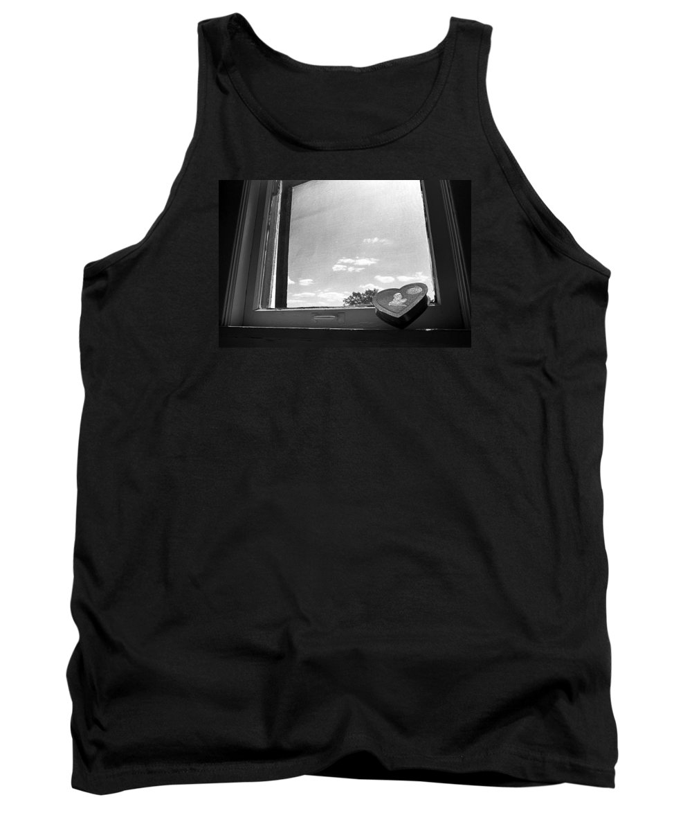 Window Tank Top featuring the photograph What Remains by Ted M Tubbs