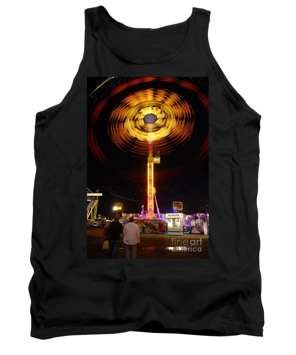 Fair Tank Top featuring the photograph Wheels Of Wonder by David Lee Thompson