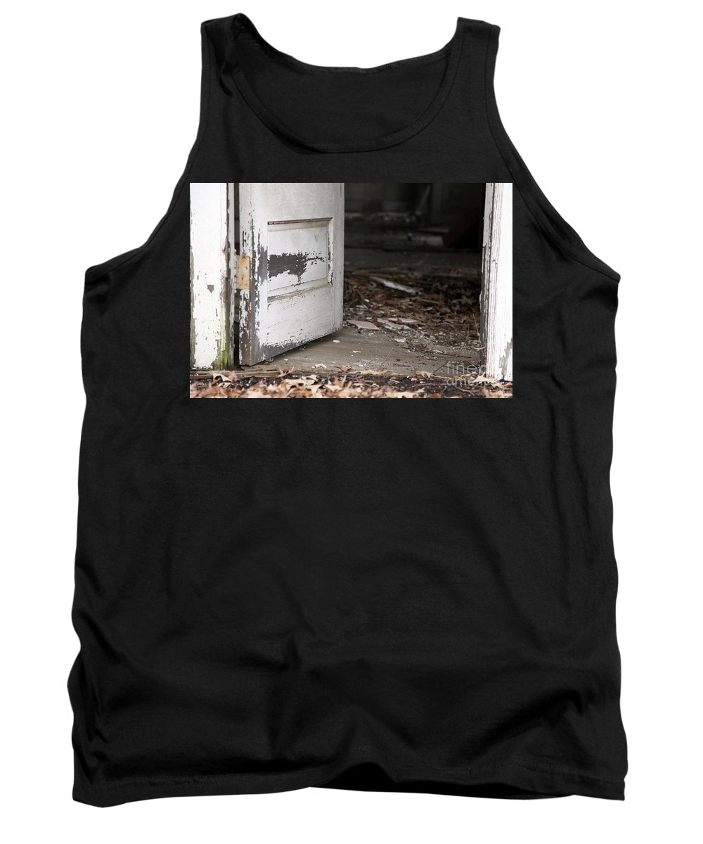 Old Tank Top featuring the photograph When Did She Go by Amanda Barcon