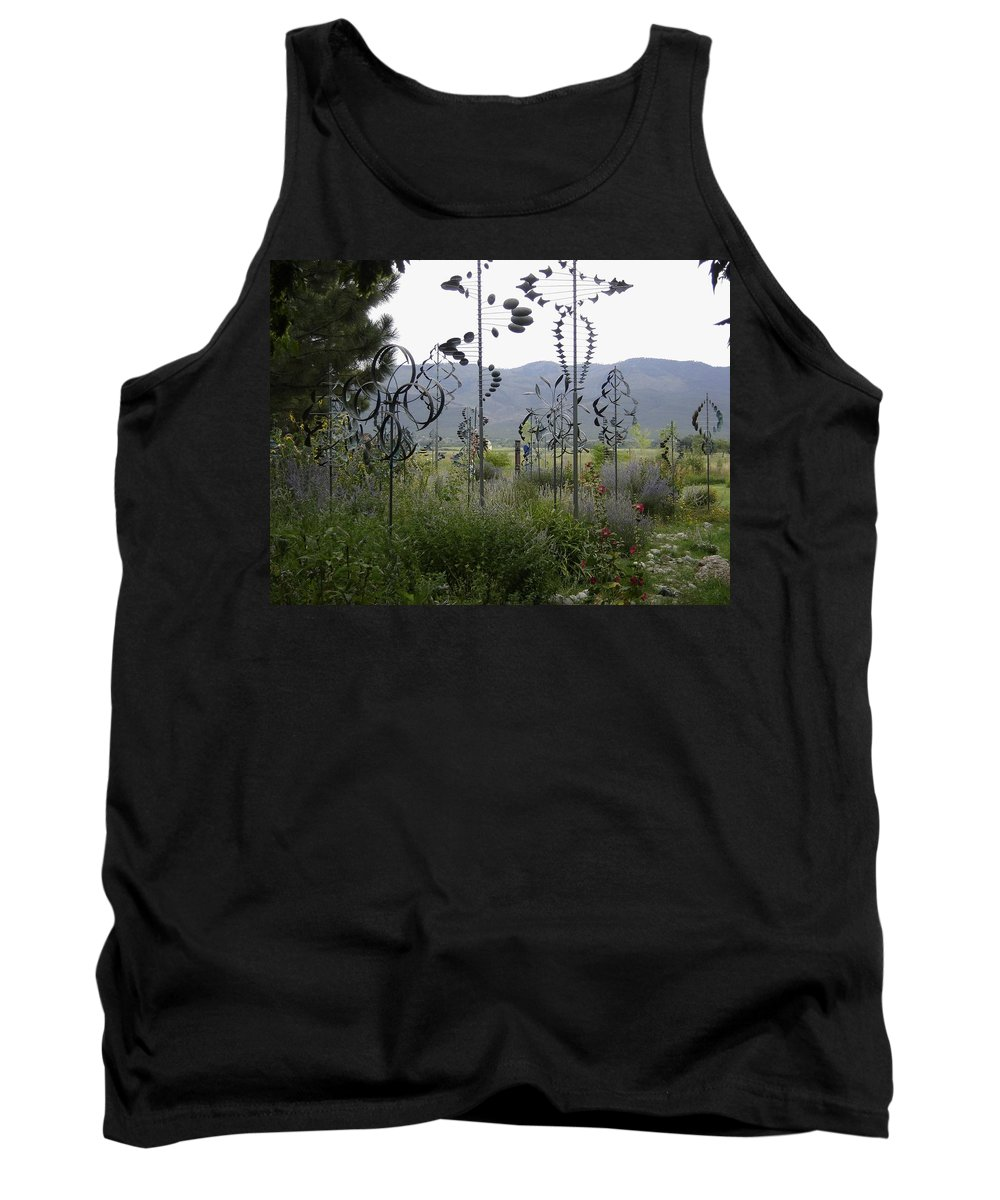 Toys Tank Top featuring the photograph Whirligigs by Mary Rogers