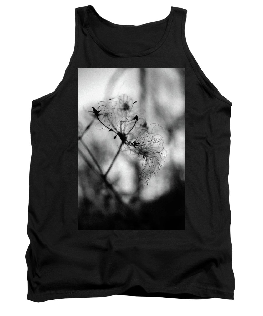 Abstract Tank Top featuring the photograph Wildflower by Lyra Bartell