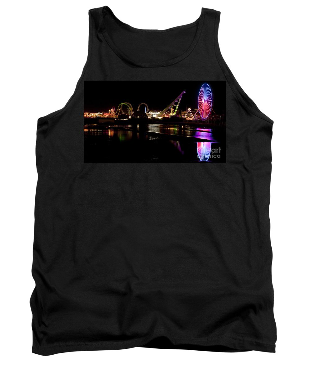 New Jersey Tank Top featuring the photograph Wildwood New Jersey by Anthony Totah