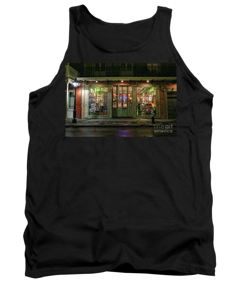 Window Shopping Tank Top featuring the photograph Window Shopping, French Quarter, New Orleans by Felix Lai