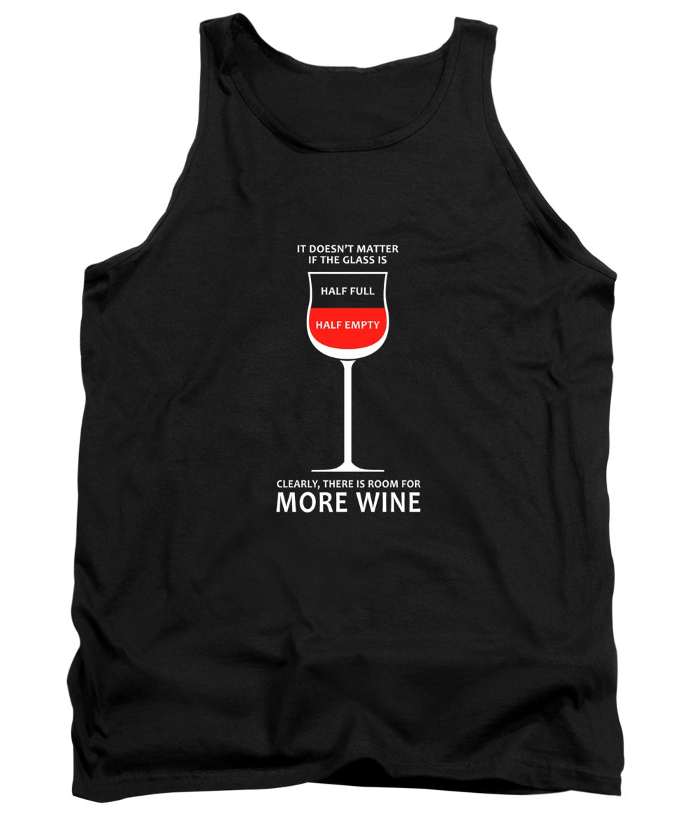 Wine Glasses Tank Top featuring the photograph Wine Glasses 1 by Mark Rogan