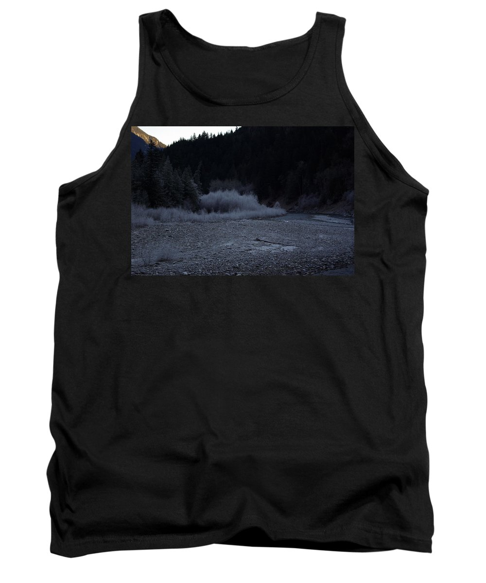 Winter Tank Top featuring the photograph Winter Creek by Cindy Johnston