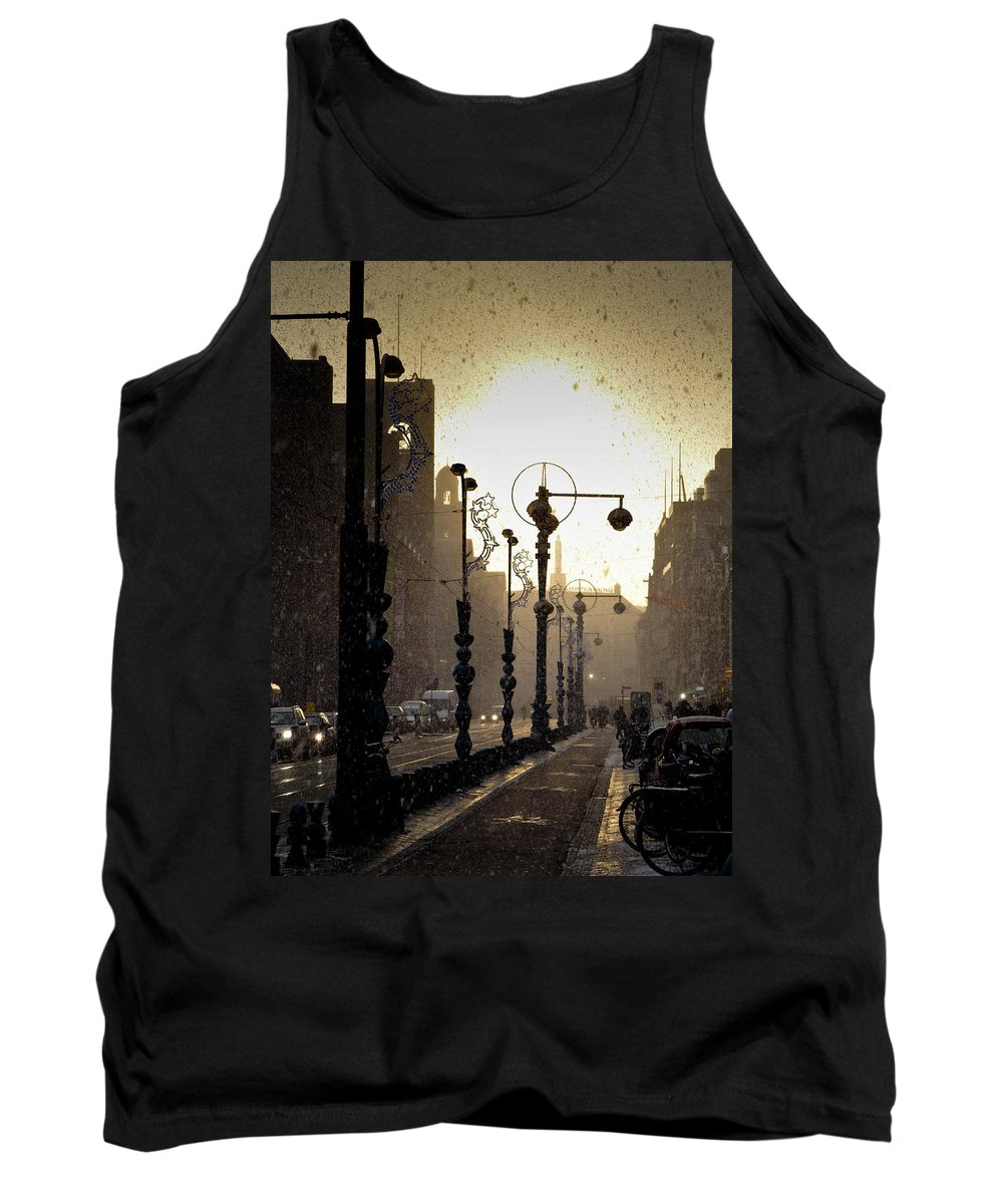 Winter Tank Top featuring the photograph Winter In Amsterdam-2 by Casper Cammeraat