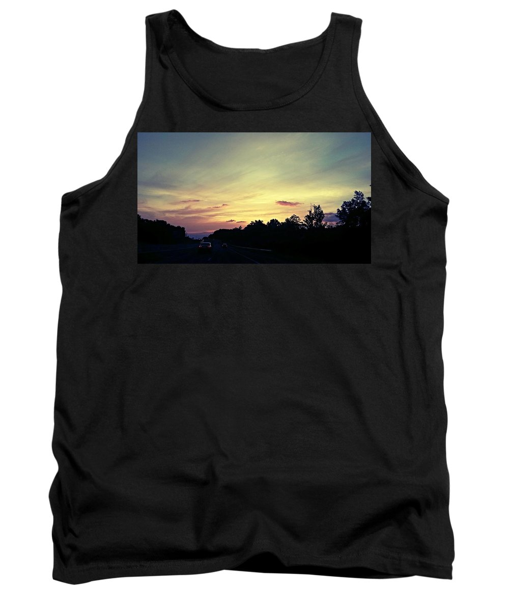 Workday Wonders Tank Top featuring the photograph Workday Wonders by Maria Urso