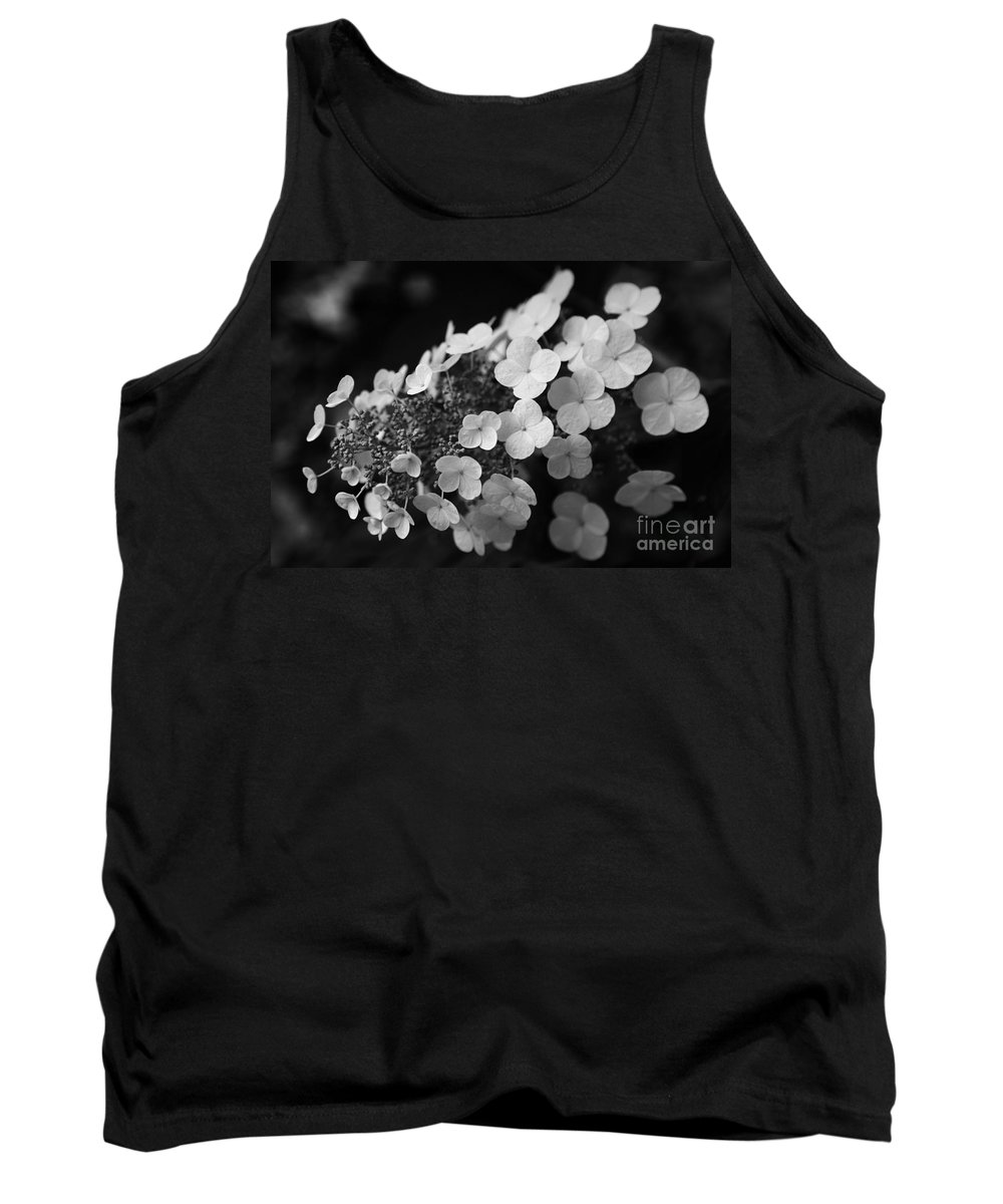 Hydrangea Tank Top featuring the photograph Working Together by Amanda Barcon
