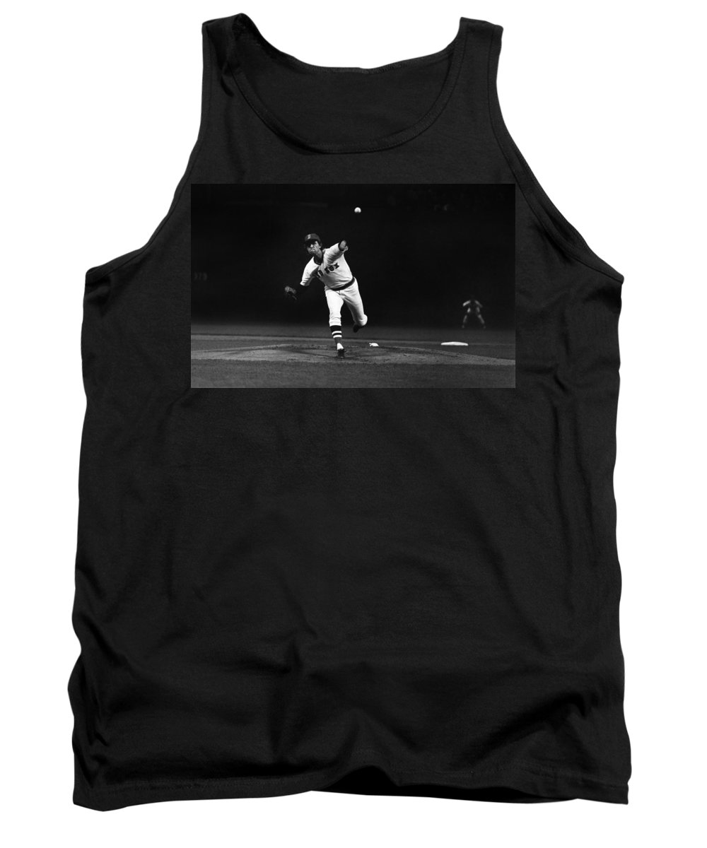 1975 Tank Top featuring the photograph World Series, 1975 by Granger