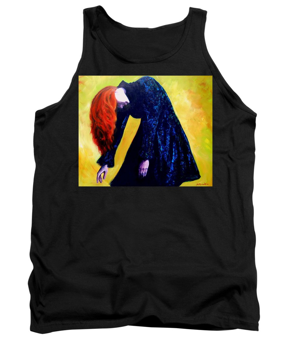 Acrylic Tank Top featuring the painting Wound Down by Jason Reinhardt
