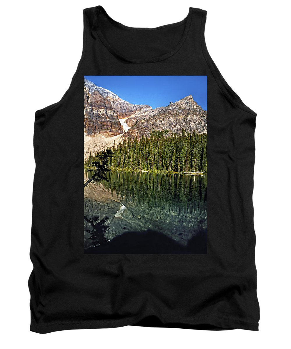 Canada Tank Top featuring the photograph Yearnings by Steve Harrington