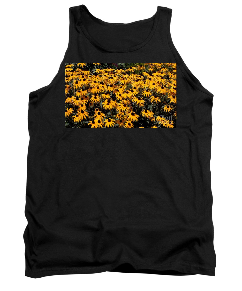 Digital Photo Tank Top featuring the photograph Yellow Is The Color Of ..... by David Lane