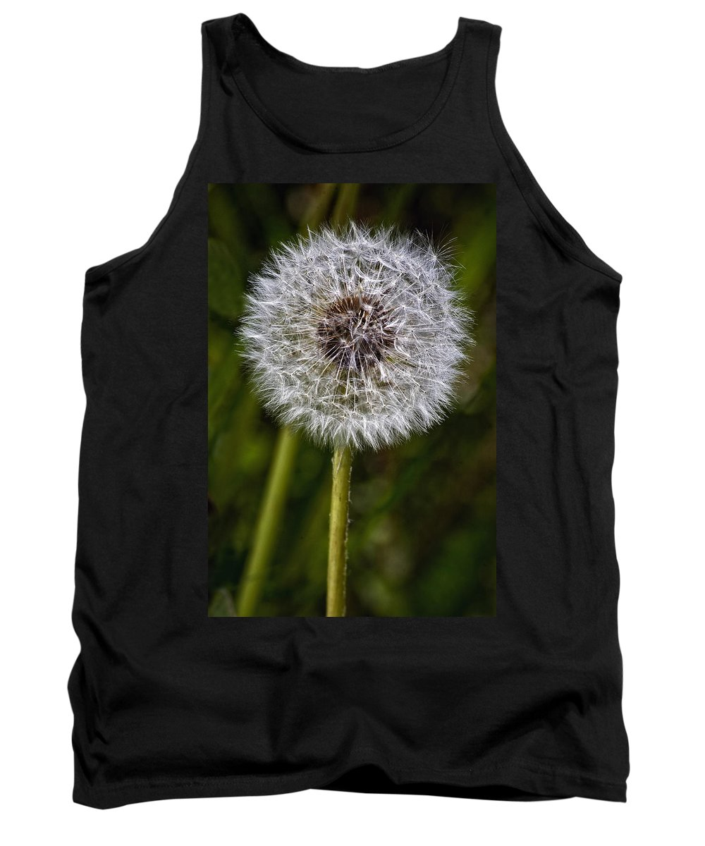 Floral Tank Top featuring the photograph Yippee by Steve Harrington