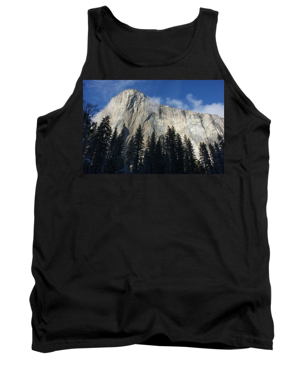 Yosemite Tank Top featuring the photograph Yosemite Mountainside by Christine Jepsen