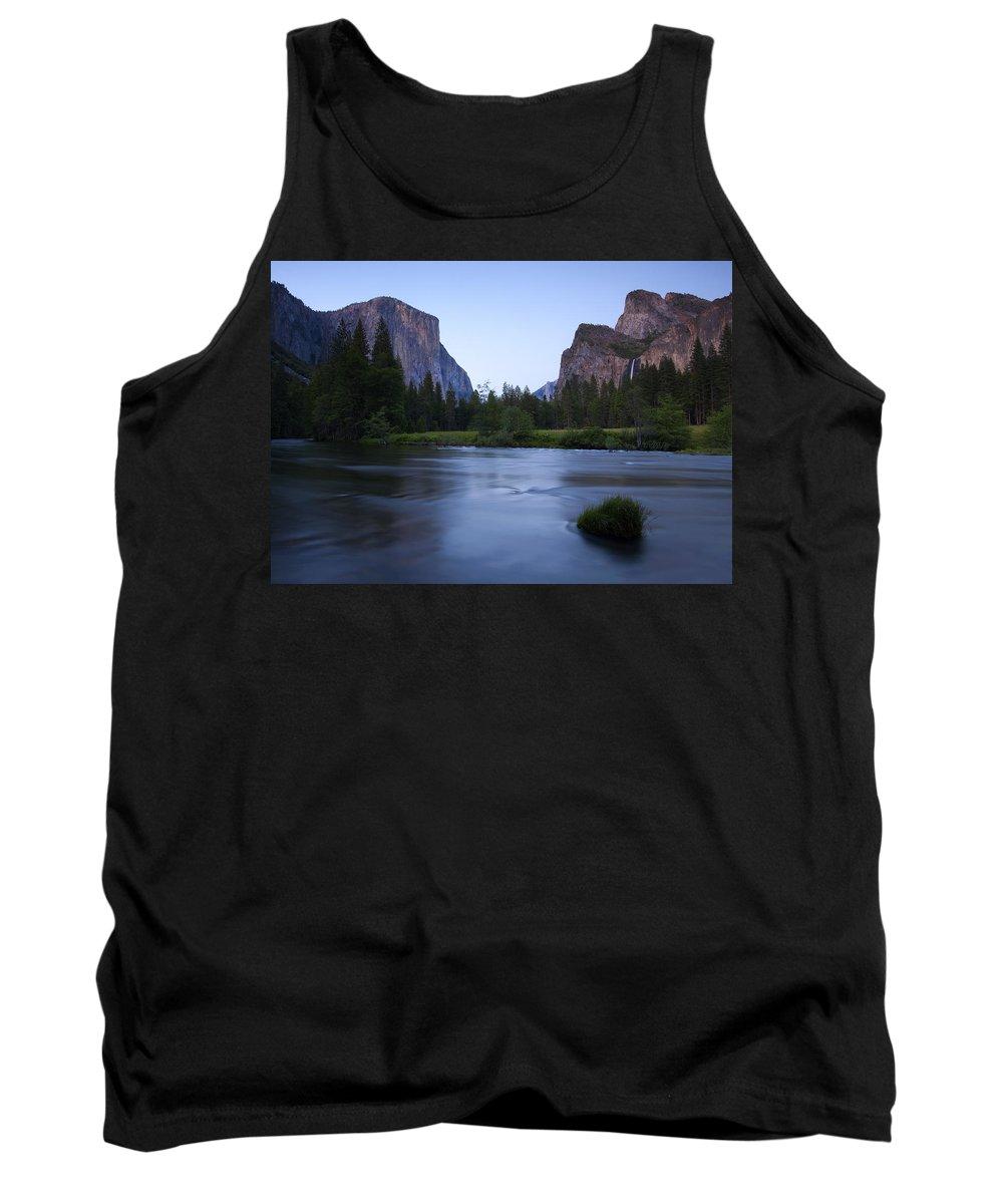 Yosemite Tank Top featuring the photograph Yosemite Twilight by Mike Dawson