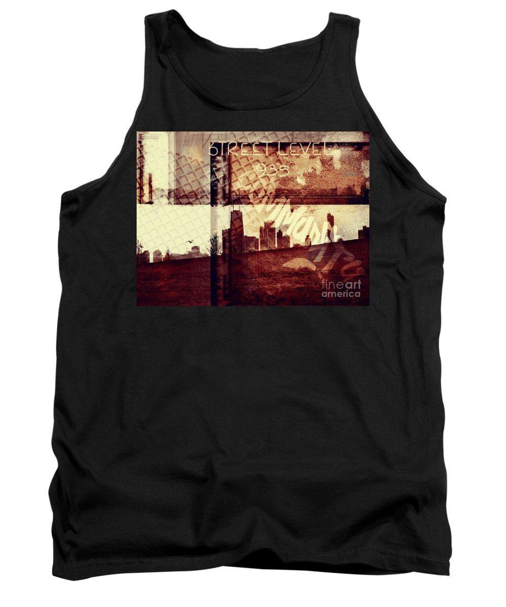 Chicago Tank Top featuring the photograph You Held My Hand Softly Through The Humid Summer Streets by Dana DiPasquale