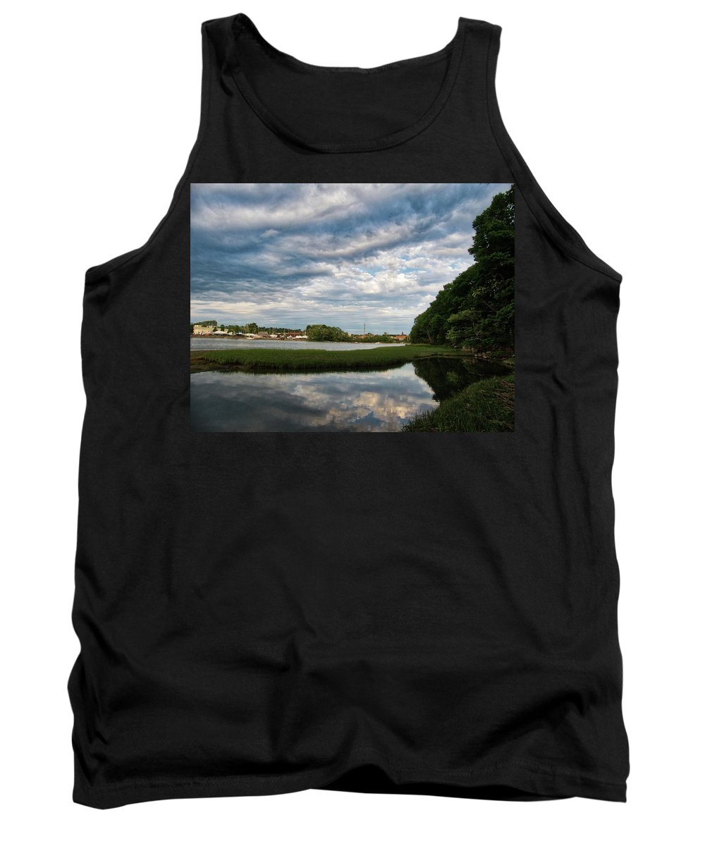 River Tank Top featuring the photograph The Bass River by Scott Hufford