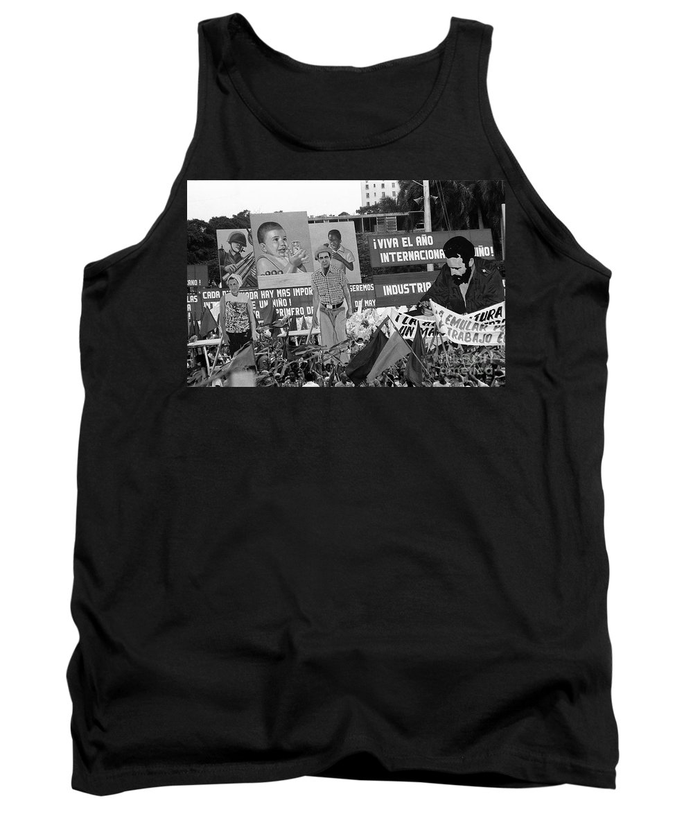 The Story In Real Life Tank Top featuring the photograph A Unique Happening by Venancio Diaz