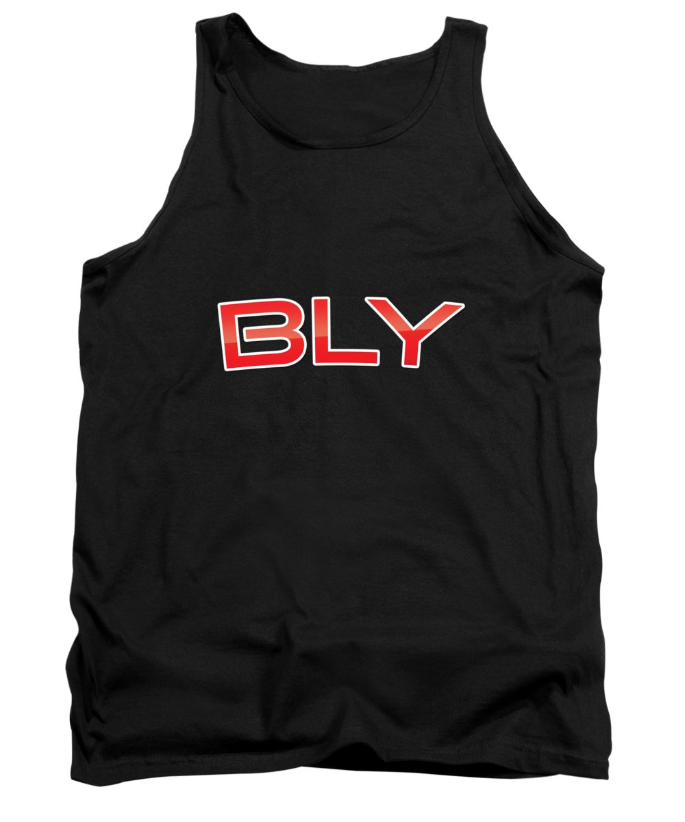 Bly Tank Top featuring the digital art Bly by TintoDesigns