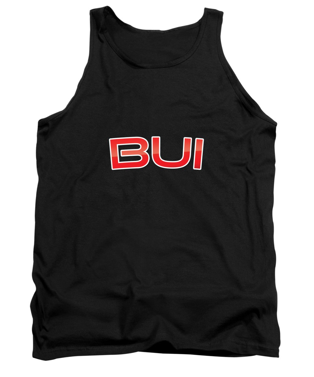 Bui Tank Top featuring the digital art Bui by TintoDesigns